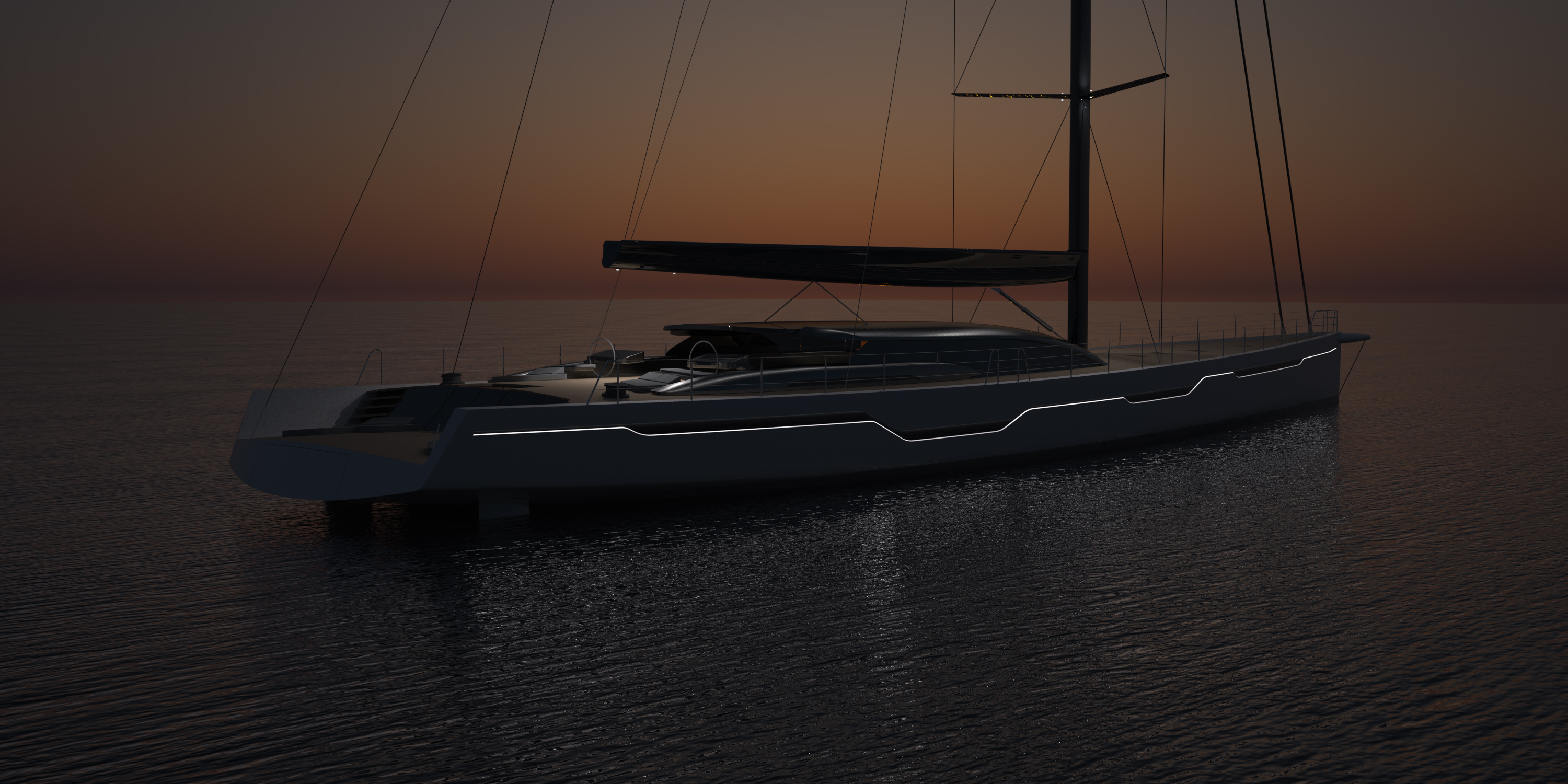 VANGEESTDESIGN-49M-SLOOP-NIGHT